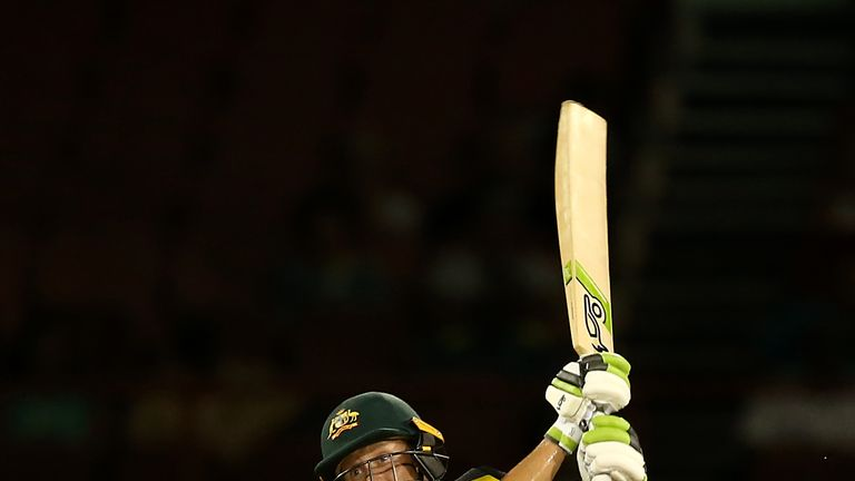 PROVIDENCE, GUYANA - NOVEMBER 13: Alyssa Healy of Australia bats during the ICC Women's World T20 2018 match between Australia and New Zealand at Guyana National Stadium on November 13, 2018 in Providence, Guyana. (Photo by Jan Kruger-IDI/IDI via Getty Images)