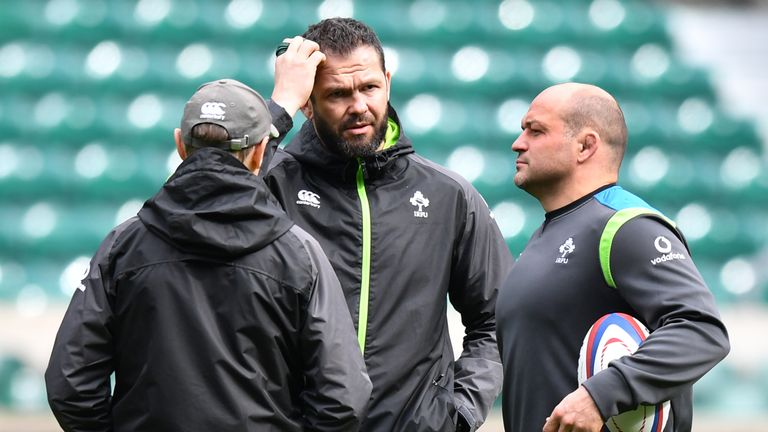 Rory Best is backing Andy Farrell to make a smooth transition into the Ireland head coach role next year