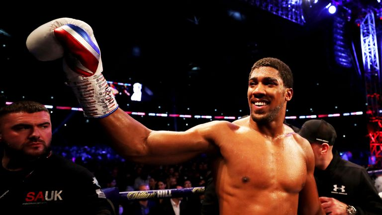 Joshua wants Wilder and Fury fights - Hearn