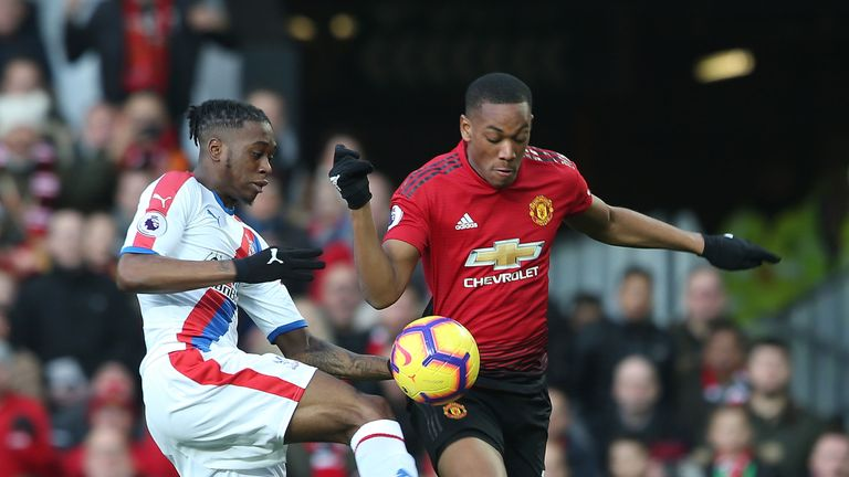Aaron Wan-Bissaka has played in 26 of the 29 Premier League games so far this season