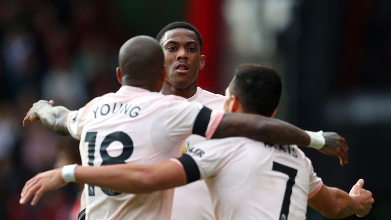 Anthony Martial is in fine form for United
