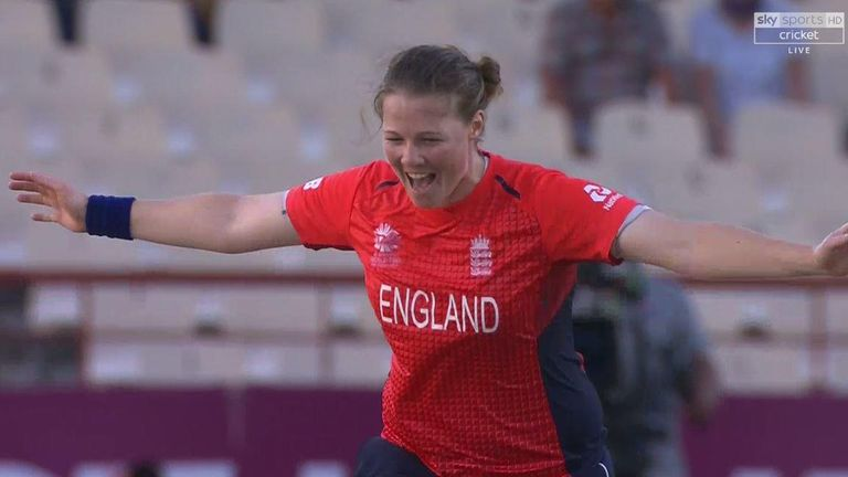 Anya Shrubsole was just the second player to take a hat-trick in the Women s  World T20 7d19be150ae