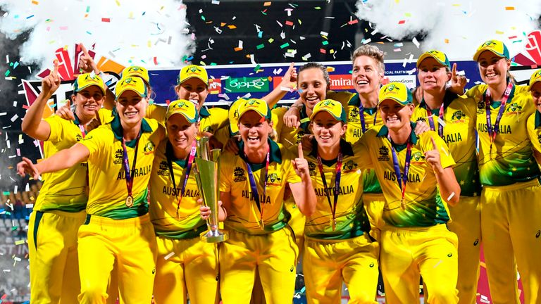 Australia are the defending Women's World T20 champions after winning in 2018