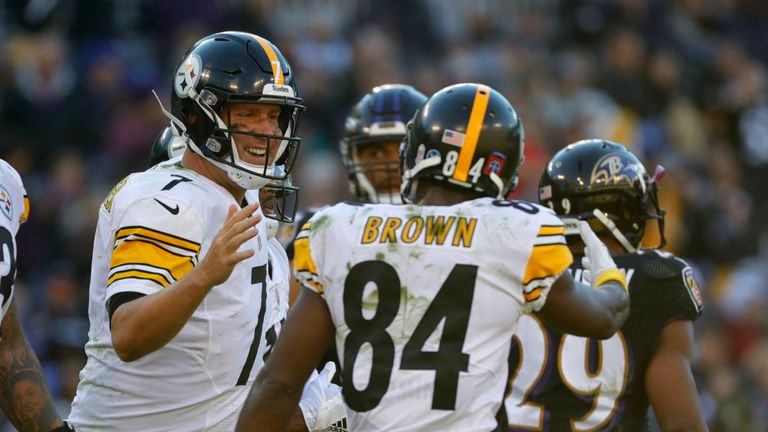 Ben Roethlisberger and Antonio Brown are key to the Steelers' chances on Sunday