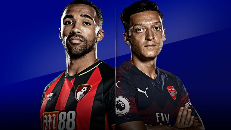 High-flying Bournemouth host in-form Arsenal on Super Sunday