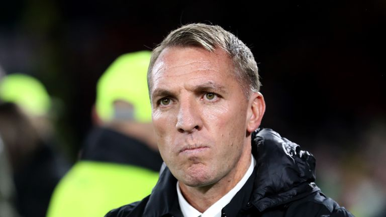 Brendan Rodgers' Celtic are top of the Scottish Premiership