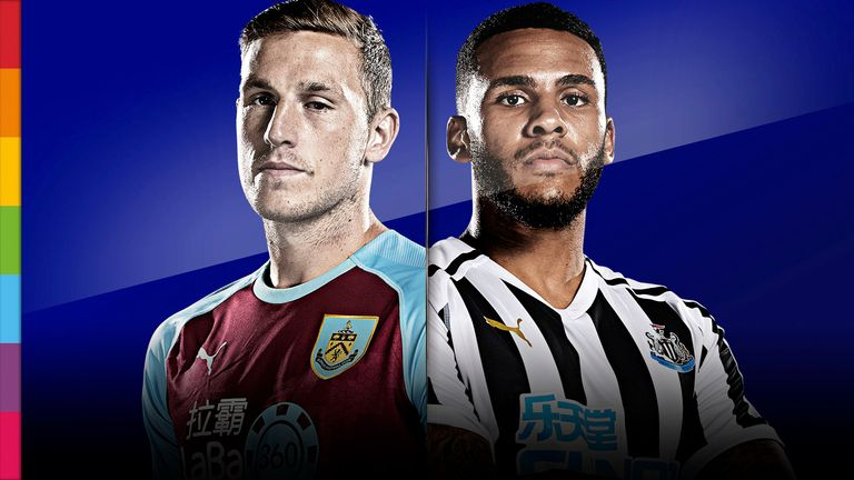 Burnley v Newcastle United - live on MNF