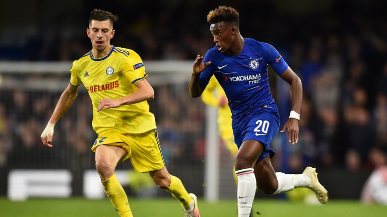 Callum Hudson-Odoi could be loaned out by Chelsea in January