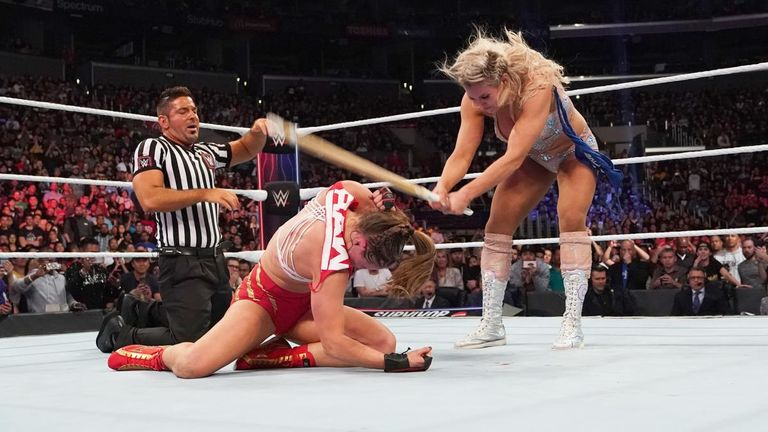 Charlotte Flair has enjoyed an excellent week, even though she was technically beaten at the Survivor Series