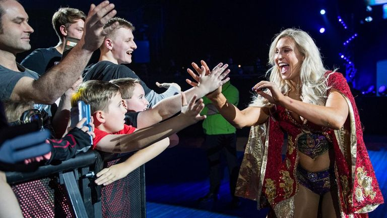 Charlotte Flair is enormously popular with both male and female fans