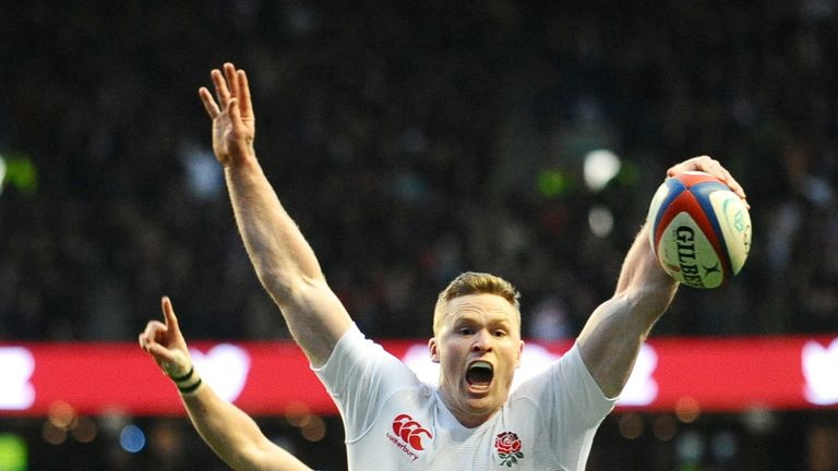 Ashton was a try scorer the last time England beat New Zealand in 2012