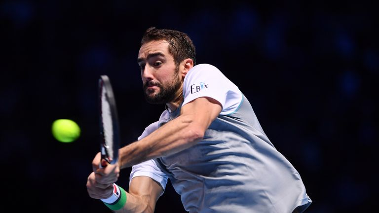 Cilic pushed Djokovic hard in the first set