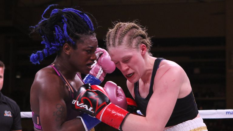 Claressa Shields adds WBA middleweight title with one-sided points win over Hannah Rankin | Boxing News |