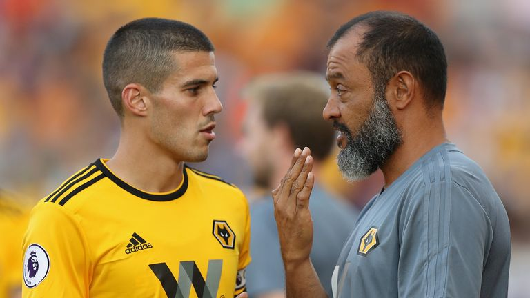 Wolves captain Conor Coady has developed his game under Nuno