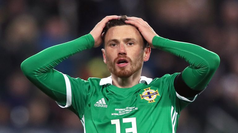 Northern Ireland were beaten by a 92nd minute winner