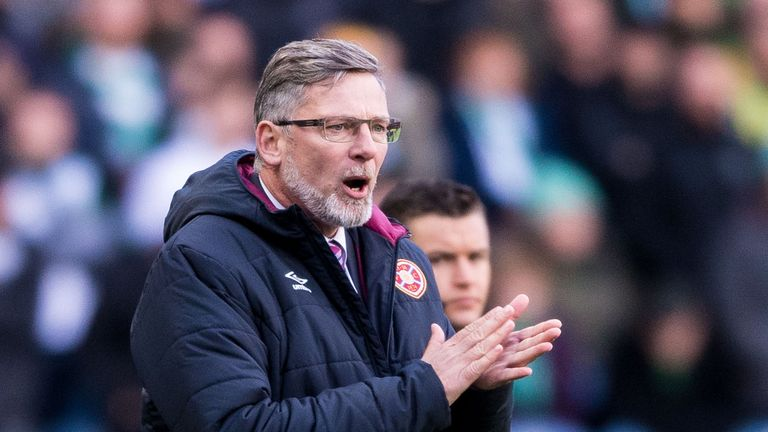 Craig Levein says Berra's return will lift his Hearts side