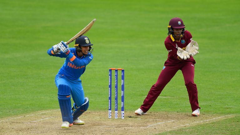 Smriti Mandhana has scored five half-centuries in T20Is for India