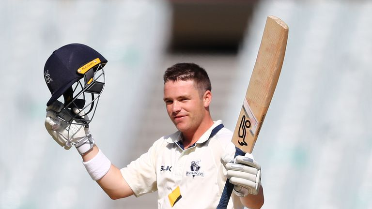 Marcus Harris is one of the leading run-scorers in Sheffield Shield