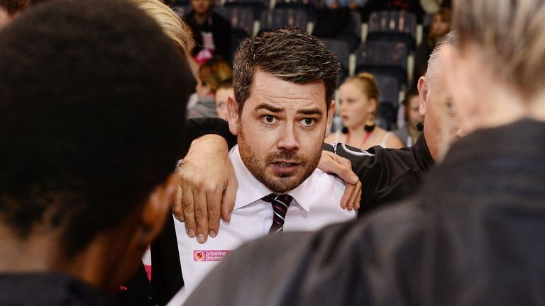 Ryan spent two years coaching Adelaide Thunderbirds in Australia