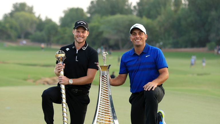 Willett won the final tournament of the season, while Francesco Molinari wrapped up the Race to Dubai