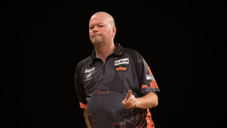 Van Barneveld faces a huge battle to qualify for the knockout stages in Wolverhampton