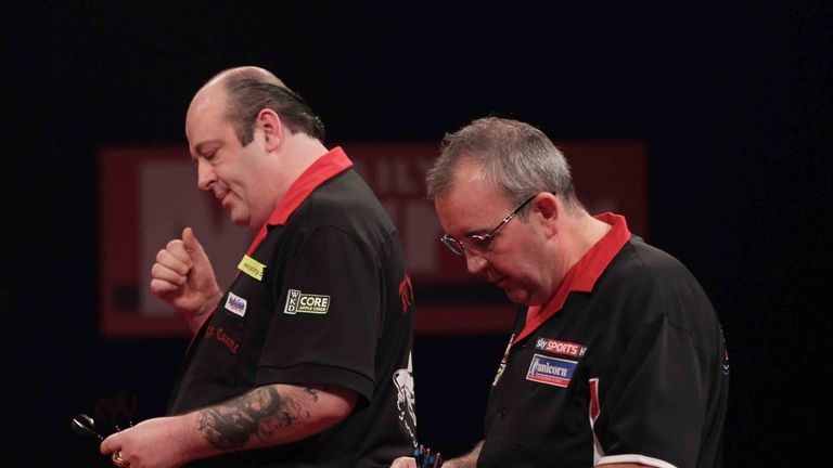 Ted Hankey edged out Phil Taylor in a thriller back in 2010