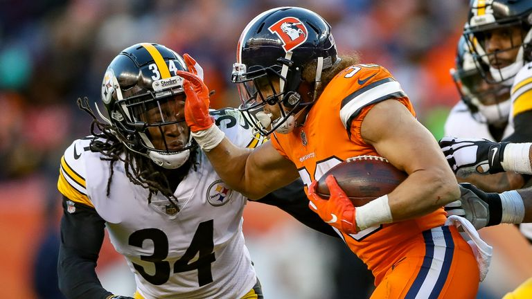 Undrafted rookie runner Phillip Lindsay has starred for Denver this season