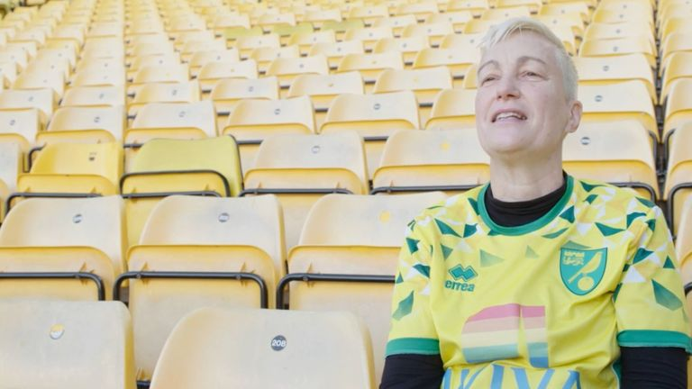 Di Cunningham founded the Proud Canaries group five years ago