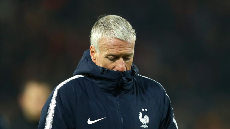 Didier Deschamps said he shared responsibility with his players for France's disappointing display and surprise setback against Netherlands