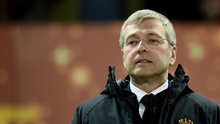 AS Monaco President Dmitry Rybolovlev saved the club from bankruptcy when he bought it in 2011.