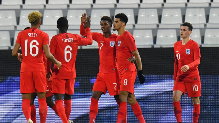 Dominic Solanke scored for England against Italy on Thursday