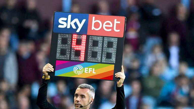 Rainbow Laces will also be supported on substitution boards