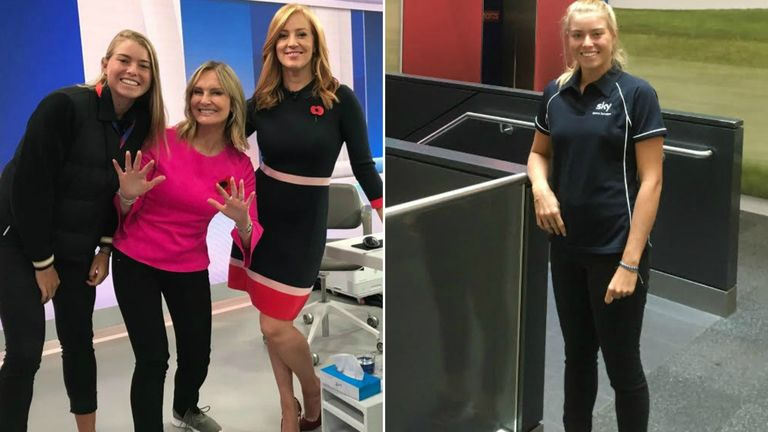 Emily Appleton is the star attraction on Sky News's Sunrise show