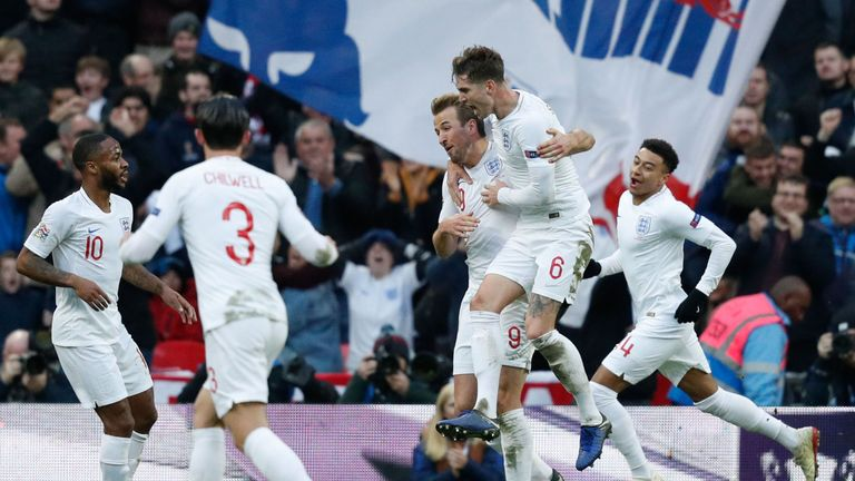 England's win means they have qualified for the Nations League finals
