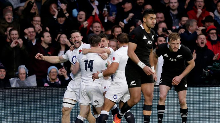 England put in a sensational first 38 minutes, excelling in most areas