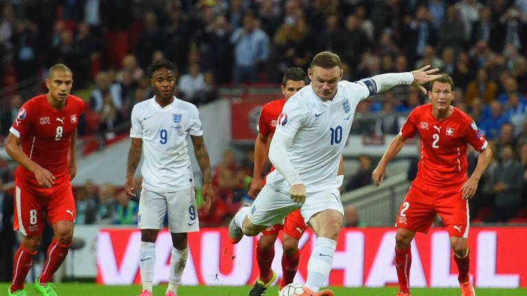 Rooney breaks Sir Bobby Charlton's England goalscoring record against Switzerland September 2015