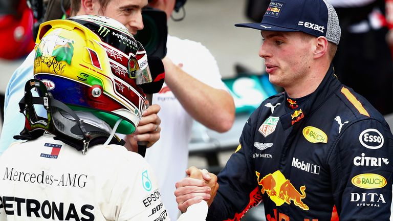 Brazilian GP: Lewis Hamilton wins after Max Verstappen hits backmarker | F1 News