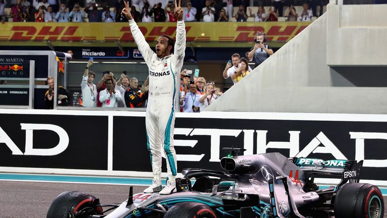 Abu Dhabi GP: Lewis Hamilton finishes F1 2018 with another win | F1 News