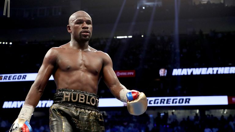 Floyd Mayweather says he was 'blindsided by arrangements made without his consent'