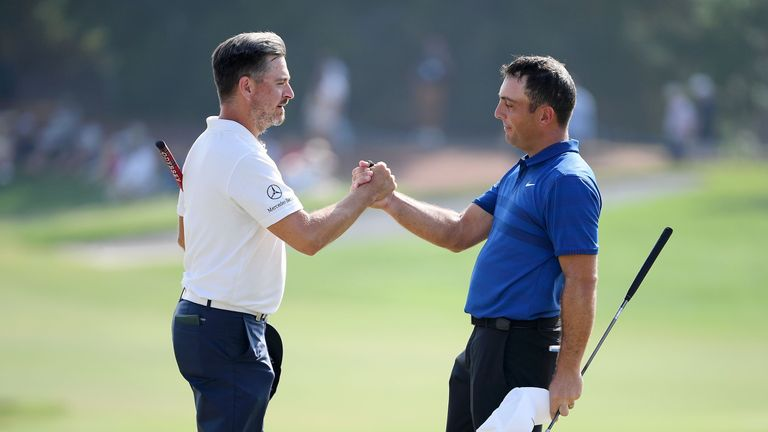 Molinari closed with a 71 to finish four shots behind Fleetwood