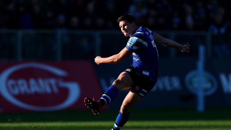 Freddie Burns kicked three penalties and three conversions as Bath beat Worcester