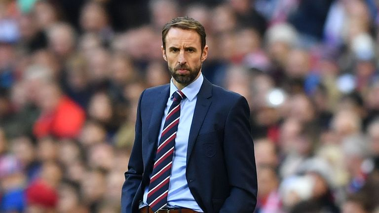 England boss Gareth Southgate has now lost five players from his squad