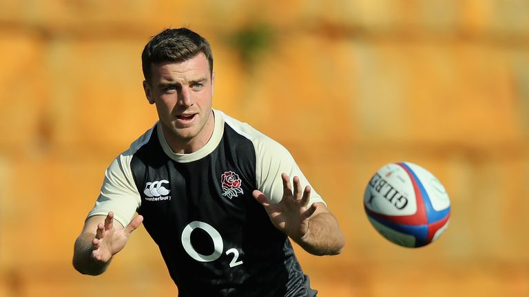 Barnes would like to see George Ford start against Italy
