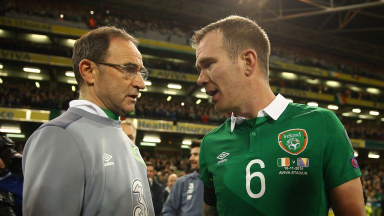 O'Neill told Whelan that his Republic of Ireland career had come to and end last November