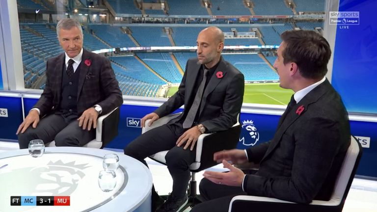 Graeme Souness and Gary Neville had a lively debate on Super Sunday