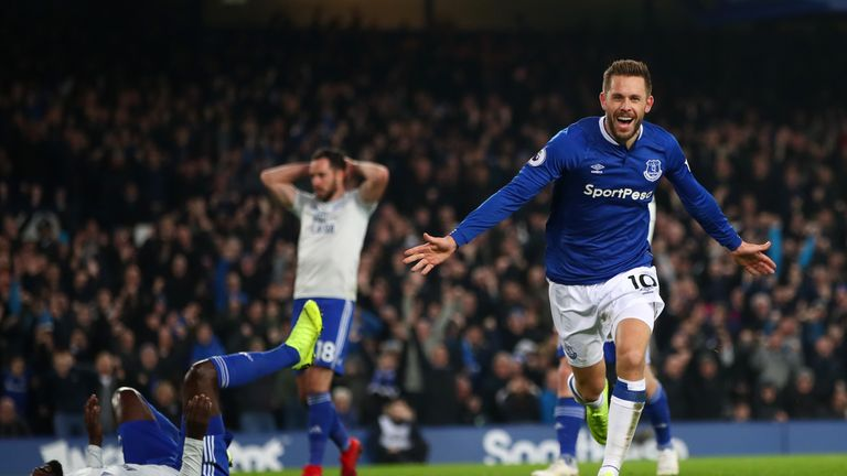 Gylfi Sigurdsson has been involved in four goals in his nine career appearances against Man City