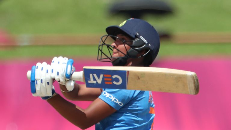 Harmanpreet Kaur smashed 103 off 51 balls in the opening match of the competition