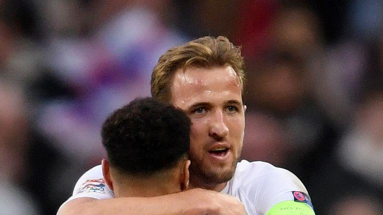 Harry Kane scored the winning goal for England