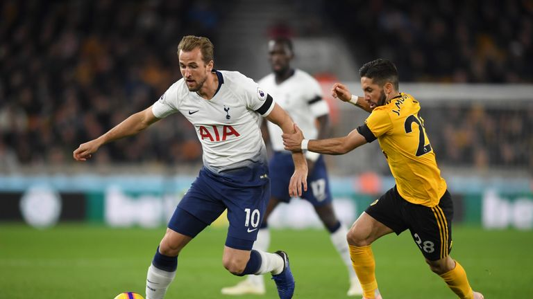 Harry Kane got what turned out to be the crucial third goal at Molineux