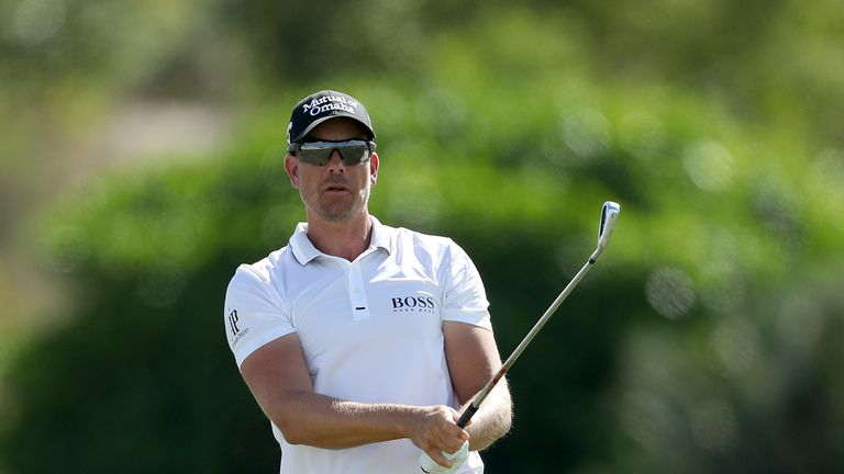 Henrik Stenson shares the halfway lead with Rahm